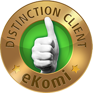 Distinction client Ekomi bronze