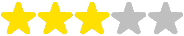 3 étoiles / 5