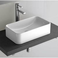 Vasque céramique rectangulaire à poser Sensation 45,8 x 28,5 cm