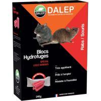 Blocs hydrofuges raticides souricides DALEP®