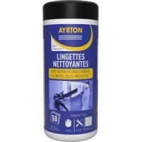 Lot 9 cartouches mastic polymère Superfix Cristal + 50 lingettes gratuites