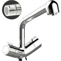 Mitigeur de lavabo/paillasse thermostatique Mastermix à douchette extractible