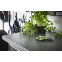 Plan de travail métalique - Système Click In - Garage