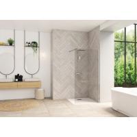 Paroi de douche avec barre de renfort Walk In Smart Design Solo