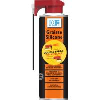 Graisse Silicone translucide Double Spray