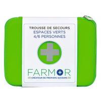 """Trousse de secours """"espaces verts"""" - 4/6 personnes + 10 lingettes apaisantes """"anti-moustiques"""" offertes"""