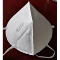 Masque jetables pliables KN95 type FFP2 sans valve - sachet 10 pièces