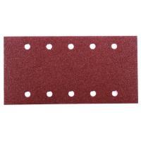 Abrasifs auto-agrippants pour ponceuses vibrantes grains oxyde d'aluminium KP222 perforés 10 trous