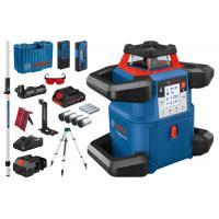 Kit Niveau laser rotatif extérieur - GRL 600 CHV + trépied BT 170 HD + mire GR 240