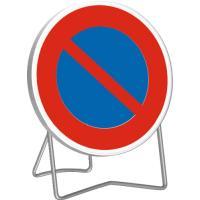 Panneau d'interdiction temporaire B