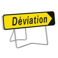 Panneau de déviation temporaire KD