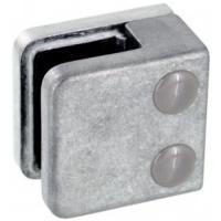Pinces à verre pour garde-corps - modèle 01 - carré 45x45 mm