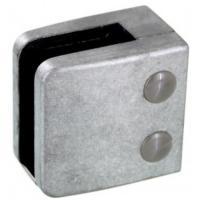 Pinces à verre pour garde-corps - modèle 06 - carré 55x55 mm