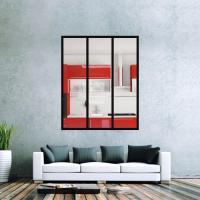 Kit de verrière d'intérieur avec verre