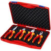 Coffret d'outils « RED » Électro Set 1 avec 4 pinces isolées 1000V