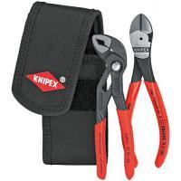 Lot de 2 pinces en pochette ceinture : Cobra® 150mm et Pince coupante 140mm