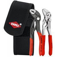 Lot de 2 pinces en pochette ceinture : Cobra® 125mm et Pince-clé 125mm