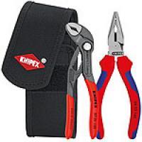 Lot de 2 pinces en pochette ceinture : Cobra® 150mm et Pince universelle 145mm