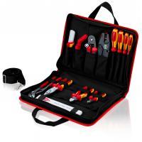 Trousse à outils « Compacte » avec assortiment de pinces et tournevis pour électricien