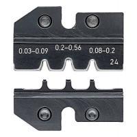 Matrice de sertissage pour pince 97 43 200 et eCrimp 97 43E - connecteur D-Sub, HD 20, HDE - 97 49 24