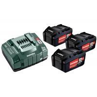 Pack énergie sans fil 18V 3 batteries 5,2Ah Li-Power + chargeur ASC 55