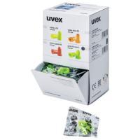 Boite distributrice de 100 paires de bouchons d'oreille jetables uvex hi-com