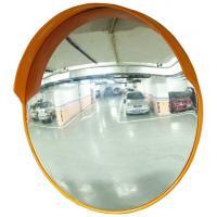 Miroir rond polycarbonate intérieur/extérieur avec visière Ø 80 cm