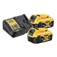 Pack 2 batteries XR 18V 4Ah Li-ion + chargeur - DCB115M2-QW