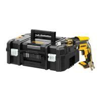 Visseuse plaques de plâtre XR 18V Brushless - sans batterie ni chargeur - en coffret TSTAK - DCF620NT-XJ