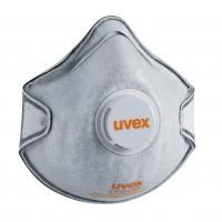 Masques de protection respiratoire coque uvex silv-air c 2220 FFP2 avec soupape et filtre carbone