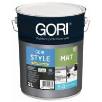 Peinture acrylique murs et plafonds Gori Style mat