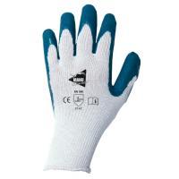 Gants de manutention courante à enduction latex sur support polycoton blanc jauge 10 MM014