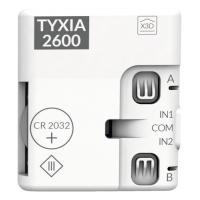 Emetteur de commande Tyxia
