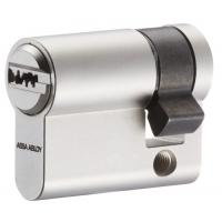 Cylindre simple à profil européen en laiton nickelé type CY 110