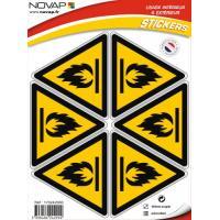 Triangles danger adhésifs