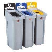 Station de recyclage 3 flux Slim Jim