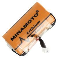 Pile lithium 2/3 AA 3,6 Volts avec son câble de connection pour Libra