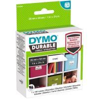 Étiquettes DYMO® LW résistantes plastifiées