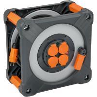 Enrouleur de câble multiprises Cube