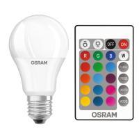 Lampe LED RGB avec télécommande E27