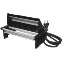 Prise escamotable anti-poussière avec prise USB