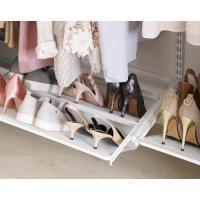 Porte-chaussures coulissant 2 rangées pour consoles - Système suspendu