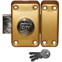Verrous de sûreté à bouton City 25 s'entrouvrant sur numéro KCF 005501