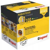 Distributeur 100 boîtes d'encastrement 1 poste Ecobatibox BBC
