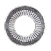 Rondelles contact acier zingué blanc