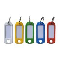 Porte-clés de couleur à étiquettes