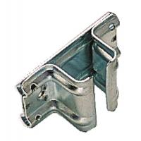 Supports de plafond de profils supérieur pour porte coulissante sur profil tubulaire