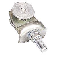 Roulettes à boulon simples pour porte coulissante sur profil tubulaire