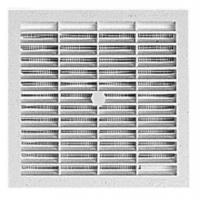 Grilles de ventilation carrées à visser ou à coller