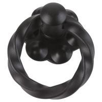 Poignée anneau torsadé rustique fer